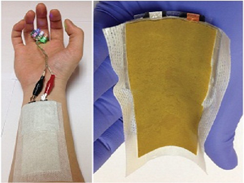 KAIST Develops a Credit-Card-Thick Flexible Lithium Ion Battery 이미지
