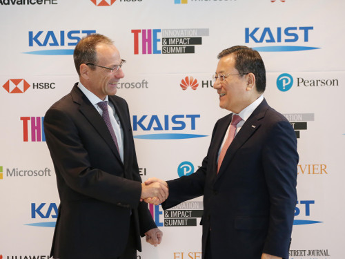 KAIST-THE Innovation & Impact Summit Touts New Roles of Higher Education 이미지