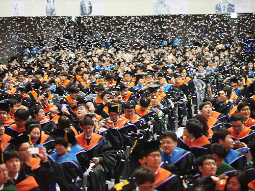 KAIST Commencement 2016 이미지