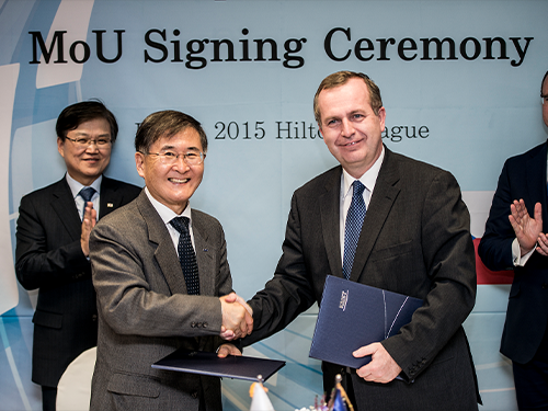 KAIST and Charles University Agree to Cooperate 이미지