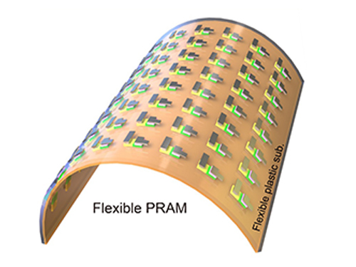 KAIST Team Develops Flexible PRAM 이미지