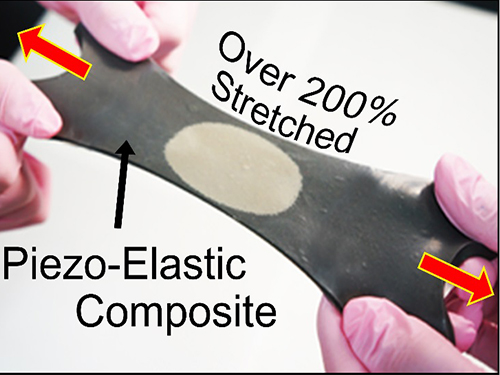 KAIST Researchers Develops Hyper-Stretchable Elastic-Composite Energy Harvester 이미지
