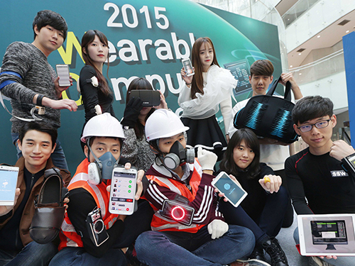 KAIST Hosts the Wearable Computer Contest 2015 이미지