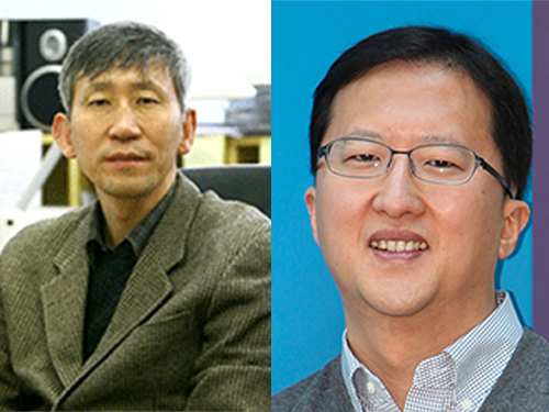 Professors Sukbok Chang and Jang-Wook Choi Receive the 2015 Knowledge Award from the Korean Government 이미지