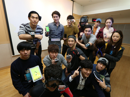 The 2014 Wearable Computer Competition Takes Place at KAIST 이미지