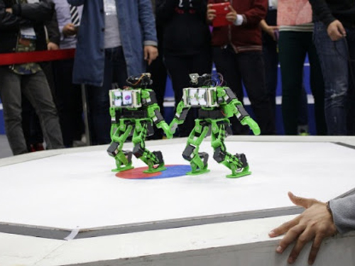 The 2014 SoC Robot Competition Took Place 이미지