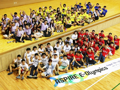 ASPIRE League 2014: E-Olympics among Five Asian Universities 이미지