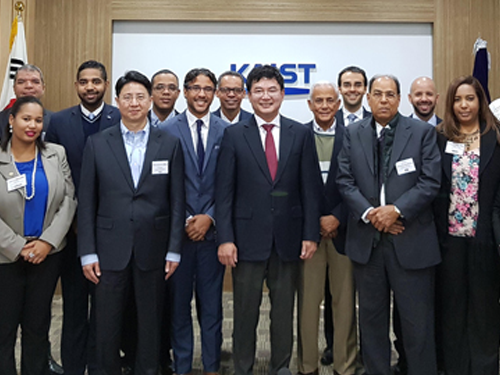 KAIST and KOICA Invited Dominican Republic Officials for Workshop 이미지