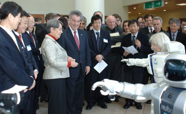 Austrian president and first lady visit KAIST 이미지