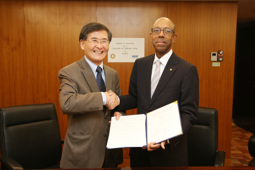 KAIST signs a Cooperation Agreement with University of California, Irvine 이미지