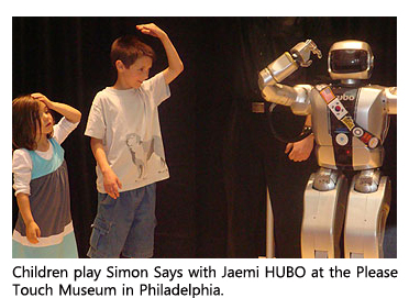 U.S. and Korean Researchers Unveil Newest Research Team Member: Jaemi the Humanoid 이미지
