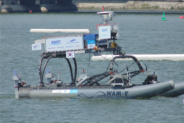 KAIST wins second place in unmanned boat competition 이미지