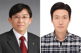 (왼쪽부터) 김상욱 교수, 정홍주 박사과정