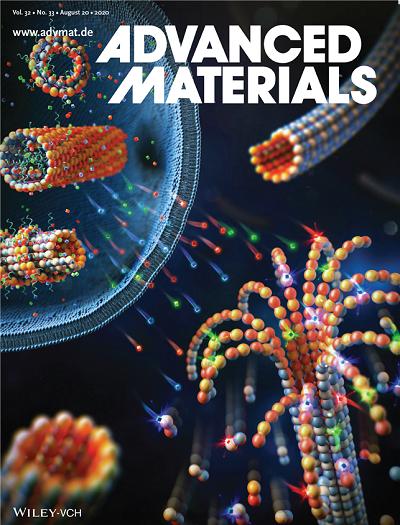 그림 3. Advanced Materials 8월 18일 Issue 표지 이미지