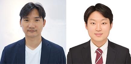 (왼쪽부터) 신소재공학과 홍승범 교수, 김재규 박사과정