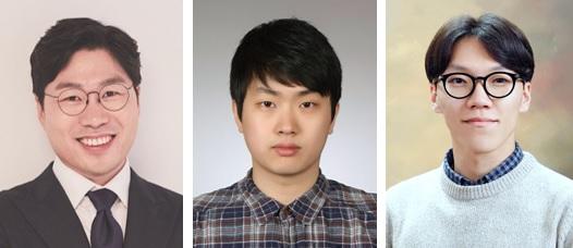 (왼쪽부터) 신소재공학과 육종민 교수, 구건모 박사, 박정재 박사과정