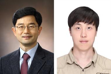 (왼쪽부터) 생명과학과 오병하 교수, 이한솔 박사