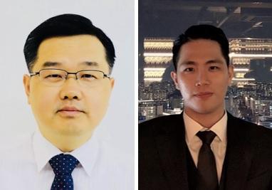 (왼쪽부터) 신소재공학과 강정구 교수, 박민규 박사과정
