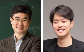 (왼쪽부터) 물리학과 한명준 교수, 물리학과 이시헌 박사