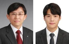 (왼쪽부터) 신소재공학과 김상욱 교수, 김인호 박사