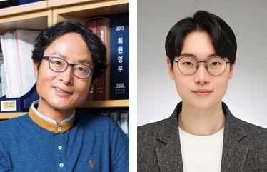 (왼쪽부터) 생명화학공학과 박현규 교수, 주용 박사과정