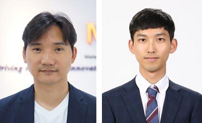 (왼쪽부터) 신소재공학과 홍승범 교수, 염지원 박사과정