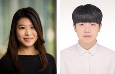 (왼쪽부터) 신소재공학과 염지현 교수, 박기현 석사과정